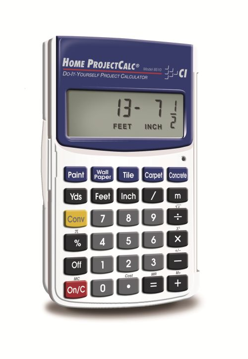 Home projectcalc do it yourself calculated industries for Build your own home calculator