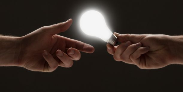 sharing bright idea image