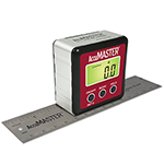AccuMASTER Digital Magnetic Angle Gauge with Ruler