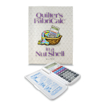 Quilter's FabriCalc & Companion Workbook