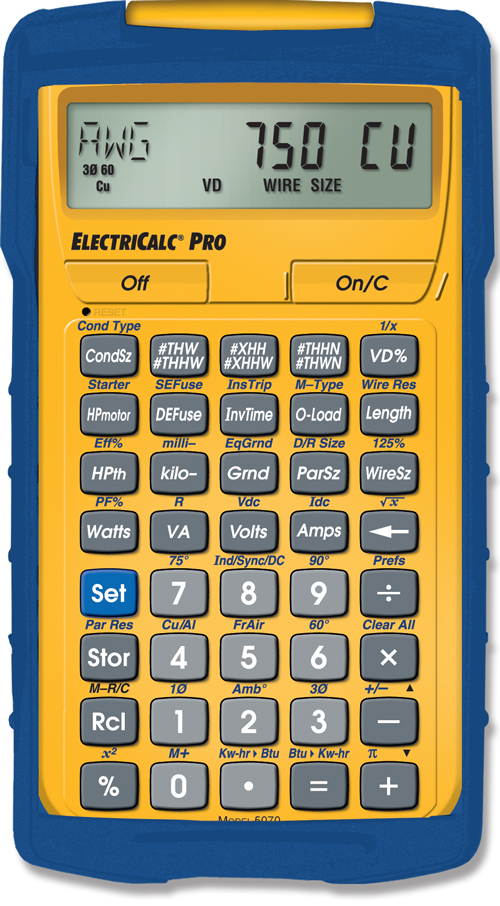 Electricalc pro construction calculatorsestimating calculators electricalc pro construction calculatorsestimating calculatorsindustrial calculators calculated industries greentooth Gallery
