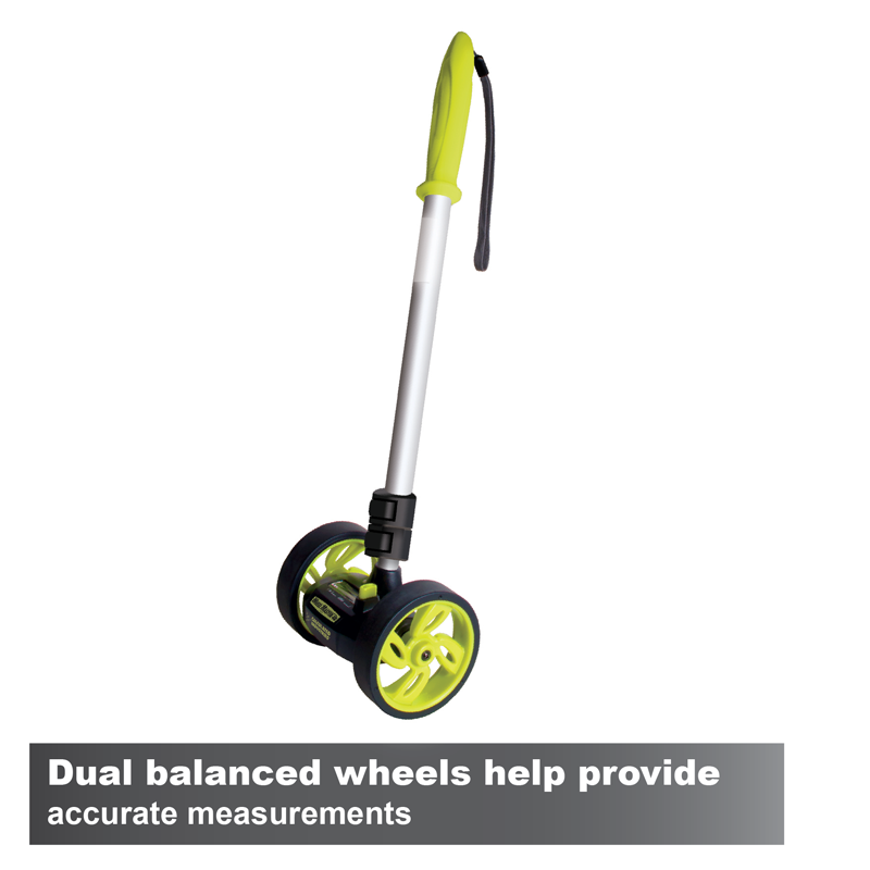 Calculated Industries 6435 Wheel Master 4D Dual Measuring Wheel