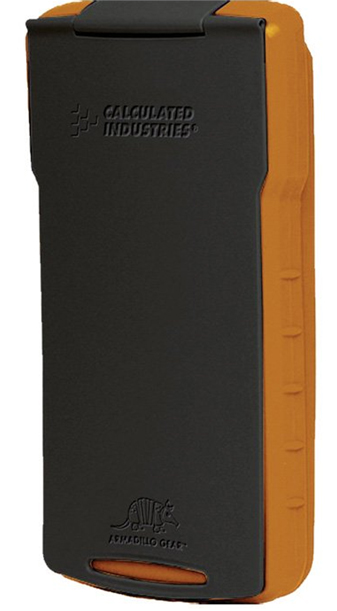 Armadillo Gear Hard Case - Orange and Gray