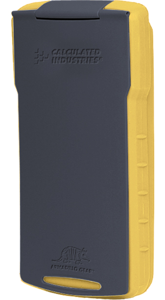 Armadillo Gear Hard Case - Yellow and Gray