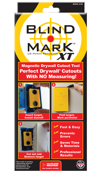 Blind Mark Magnetic Drywall Locator Tool