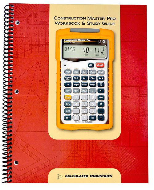 Study Guides Workbooks: Construction Master Pro Workbook And Study Guide