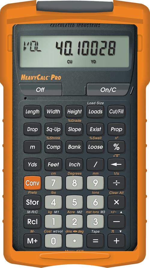 Heavycalc pro construction calculators estimating for Home construction estimate calculator