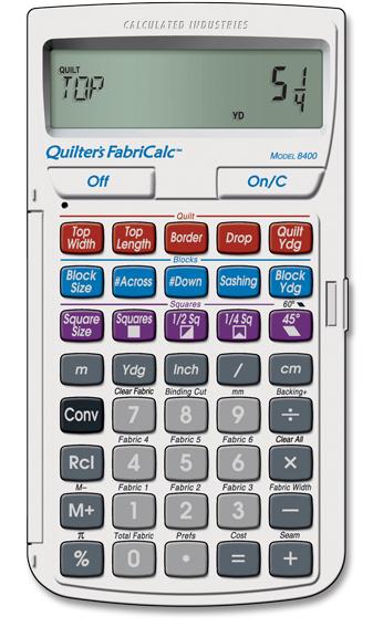 Калькулятор для шитья